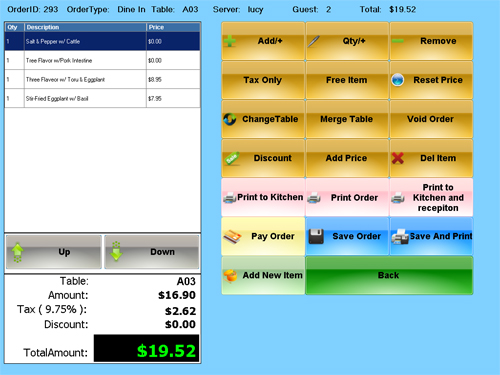 Restaurant Pos Systems Ipod Ipad Restaurant Pos Software